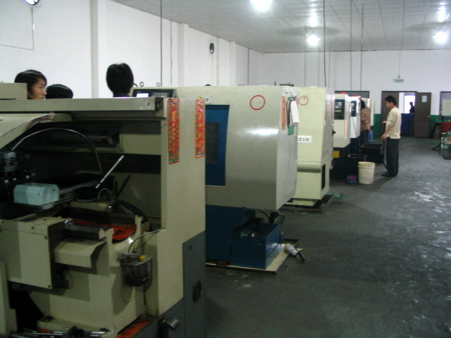 CNC车削工厂一角 (CNC Turning workshop)